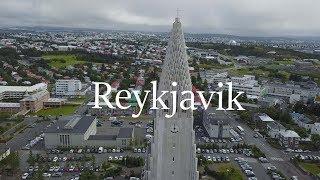 My Iceland Trip (Drone Footage) Part 1 Reykjavik & Blue lagoon