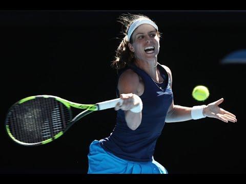 Johanna Konta vs Caroline Wozniacki 2017 Women's Australian Open Singles 2017 Third Round