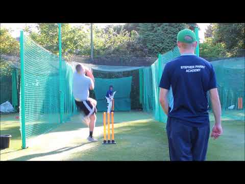 New Little brother Batting Sep 2017 Cricket net