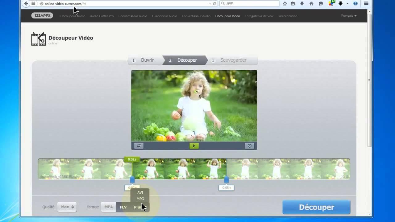 Comment augmenter la r solution d une image am nagement - Comment couper des parties d une video ...