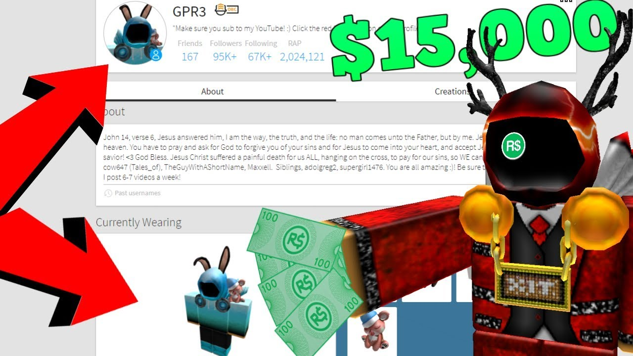 Selling My Roblox Account For 15 000 Dollars Youtube