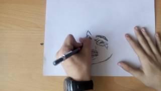 Илья Прусикин -Рисунок карандашом LITTLE BIG