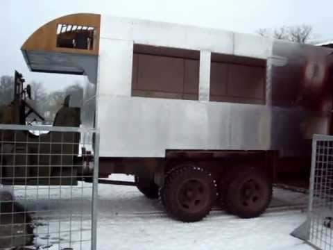 GMC CCKW 353 WWII A.R.C. Clubmobile. - YouTube