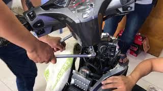 hướng dẫn lắp smartkey honda cho xe honda airblade tại Minh-T