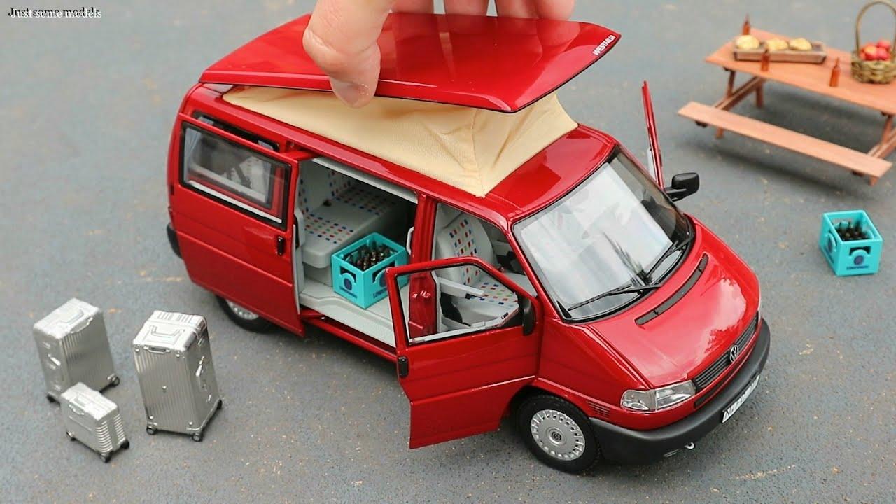 1:18 Volkswagen T4b 2.5 TDI Westfalia Camper - Schuco [Unboxing]