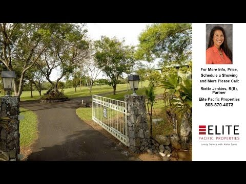 913 Hogback, Haiku, HI Presented by Riette Jenkins, R(B), Partner.