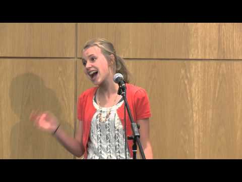 National Youth Storytelling Showcase -Timpanogos Storytelling Fest 2015