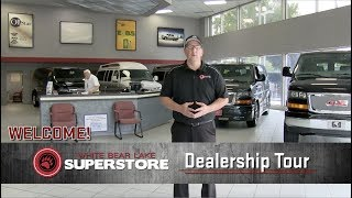 White Bear Lake Superstore Dealership Tour | Quigley 4x4 Superstore | Explorer Vans | Buick GMC