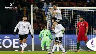 مصر والبرتغال   ملخص كامل لـ المباراة الودية مصر vs البرتغال