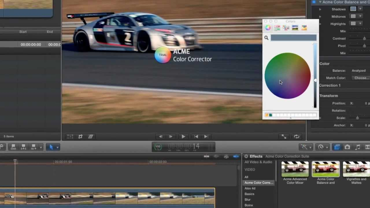 how to use motion templates in final cut pro