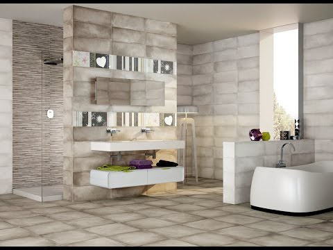 bathroom wall and floor tiles design ideas