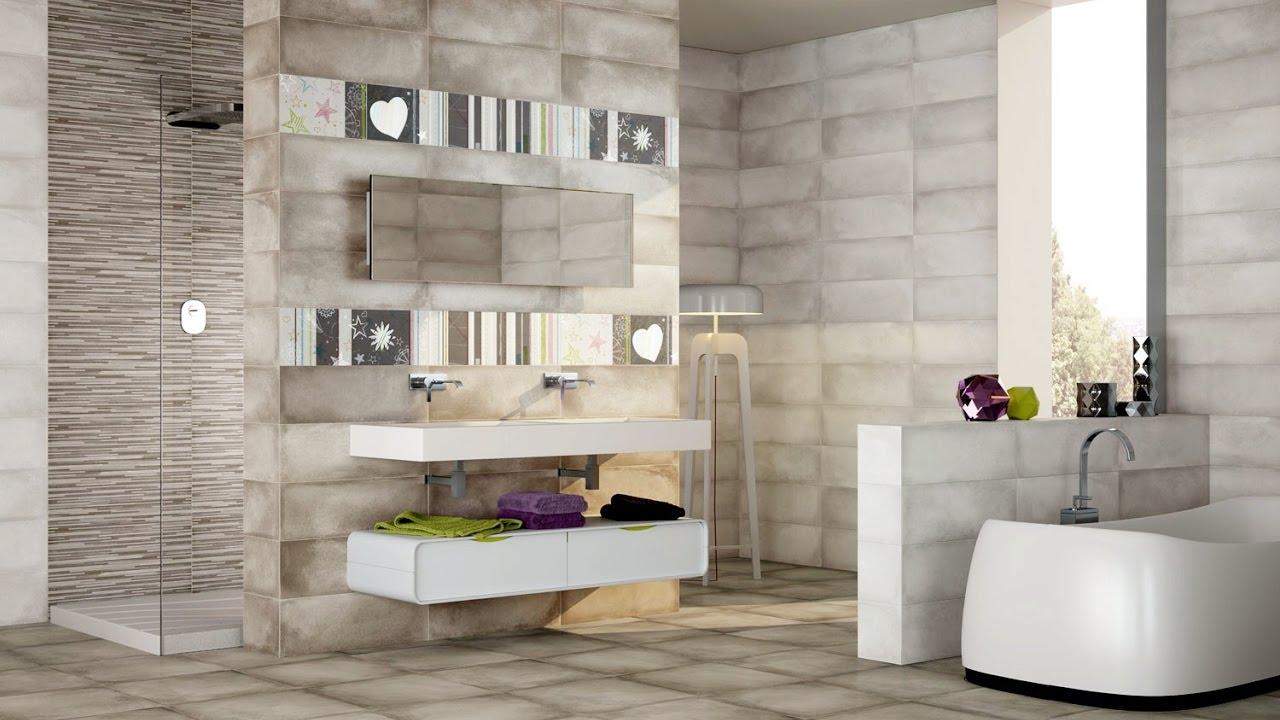 bathroom wall and floor tiles design ideas - YouTube on Bathroom Tile Designs  id=27485