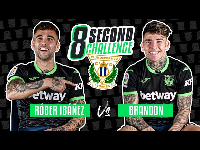 ⏱ 8 SECOND CHALLENGE | Róber Ibáñez vs. Brandon