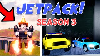 Jailbreak JETPACKS Update! (Roblox Jailbreak SEASON 3, Audi R8, RAPTOR, GAMEMODES VOTING)