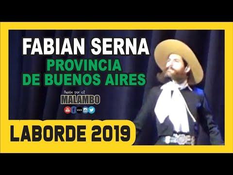 Fabian Serna Malambo Norte en Laborde 2019 Sub Campeon Nacional de Malambo