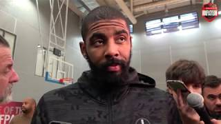 Kyrie Irving interview before Boston Celtics face Sixers | NBA London 2018