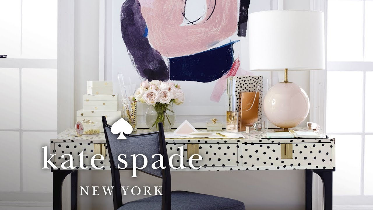 1 Desk, 3 Ways | Make Yourself A Home | Kate Spade New York