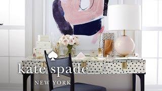 1 Desk, 3 Ways | Make Yourself A Home | Kate Spade New York