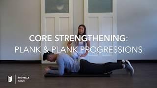 YUNITI Lifestyle x Michelle Kwok: Core Strengthening - Plank & Plank Progressions