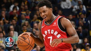 Raptors stomp the Warriors without Kawhi Leonard | NBA Highlights