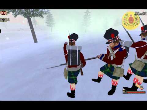 Mount and Musket Battalion Linebattle 93rd Sutherland vs 72nd Seaforth