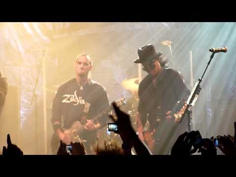 Alter Bridge & Slash – Rise Today, Live @ Arenan 2010