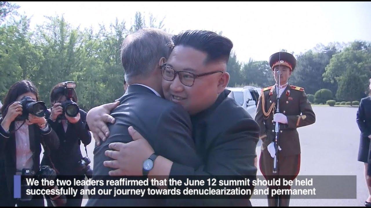 Korean leaders meet to salvage Trump-Kim summit