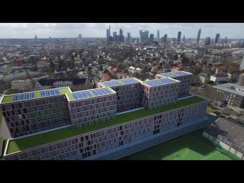 Neubau-Reportage zur Fertigstellung des Rohbaus
