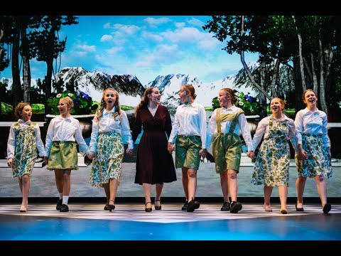 Backstage at the Ravenswood Production of 'The Sound of Music'