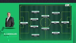 Claudio Borghi dio su equipo ideal de los mundiales de fútbol