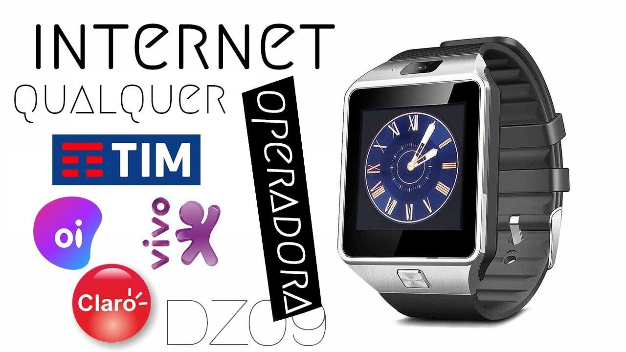 a7e262f7144 Como configurar internet no SmartWatch DZ09 (Qualquer operadora ...