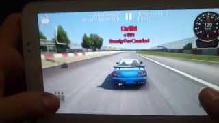"Amateur drift ""Carx Drift Racing"" android phone"
