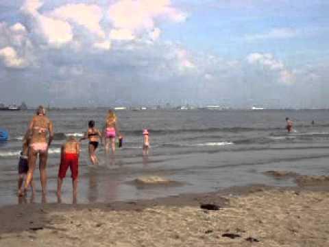 Breskens Strand Holland - YouTube