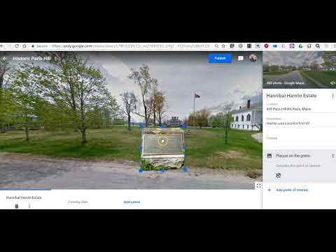 How to Add Points of Interest to Virtual Reality Tours in Google