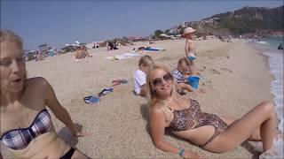 Клеопатра пляж Алания Турция Май 2017 (Kleopatra Beach Alanya 2017)