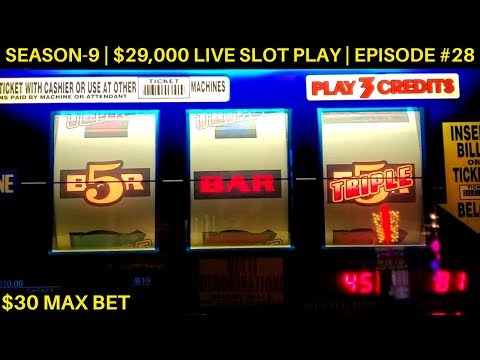 High Limit 3 Reel Slot Machine BIG WIN | High Limit Piggy Bankin Live Slot Play   | SE 9 | EP #28