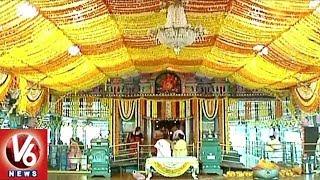 Peddamma Temple 24th Anniversary Celebrations | Hyderabad | V6 News