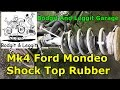 ford mondeo mk4 2008 shock top rubber bodgit and leggit garage