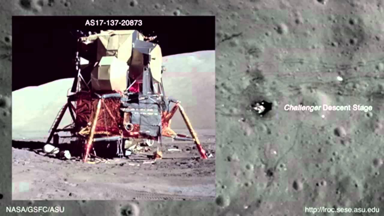 Satellite proof of Moon Landings? - YouTube
