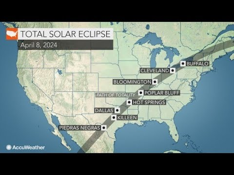 Missing 2017's total solar eclipse ? Start planning for the next one in 2024