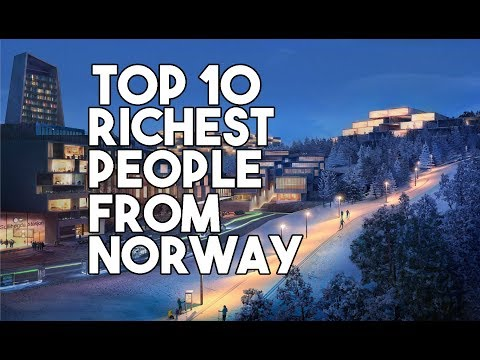 TOP 1O RICHEST PEOPLE FROM NORWAY