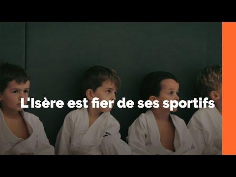 Le Département de l'Isère est fier de ses sportifs