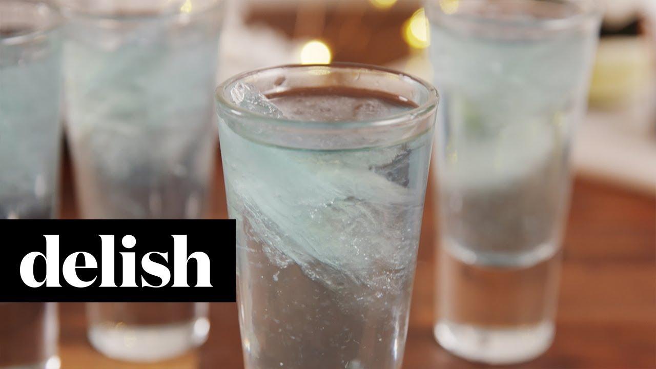 Gin & Titonic Shots | Delish