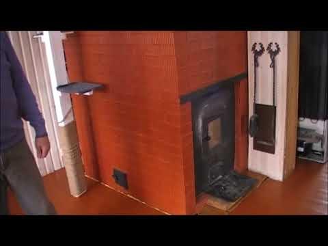 отопительная печь отапливает  180 кв м #печииркутск