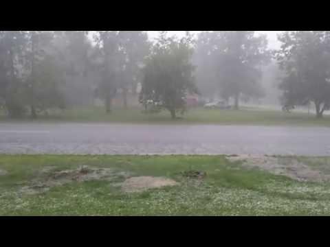 Backus, Minnesota Hailstorm part 2