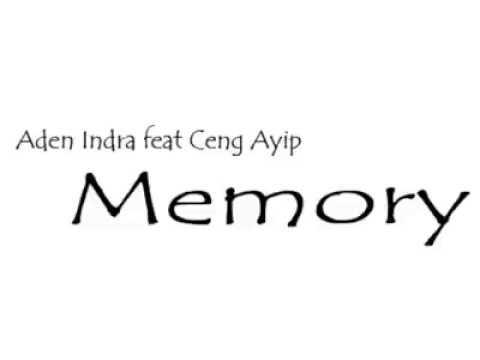 Memory - Aden feat.Ayip
