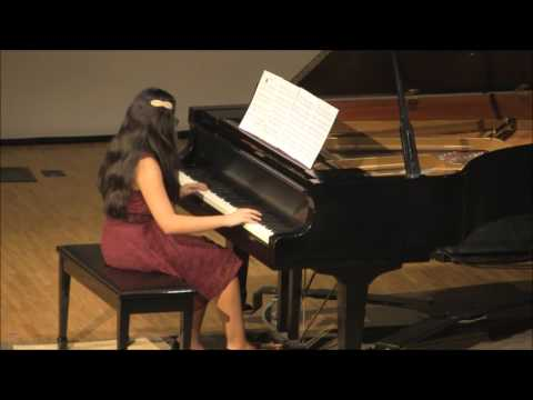 Emily performs Redeemer by Lewis D  Edwards