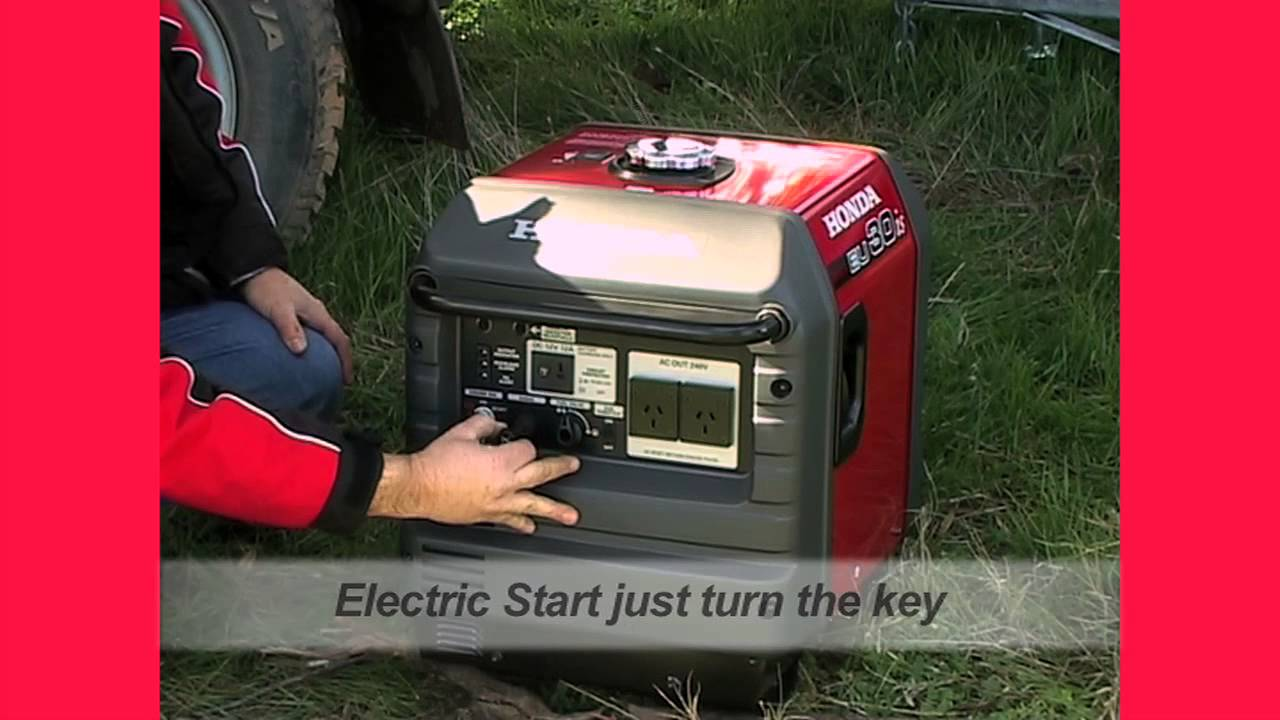 Honda eu30is generator leisure caravan youtube for Honda vs yamaha generator