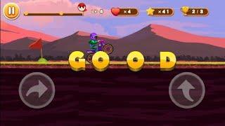 Stunt Moto Racing #3 - Unlocked Lever - Androi Gameplay - Motorbike Games For Kids