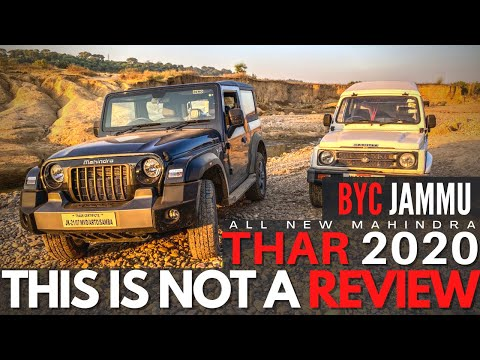 ALL NEW THAR 2020 | LAUNCHED & WE SPENT A DAY WITH IT | BYC JAMMU X ASTRO MAHINDRA